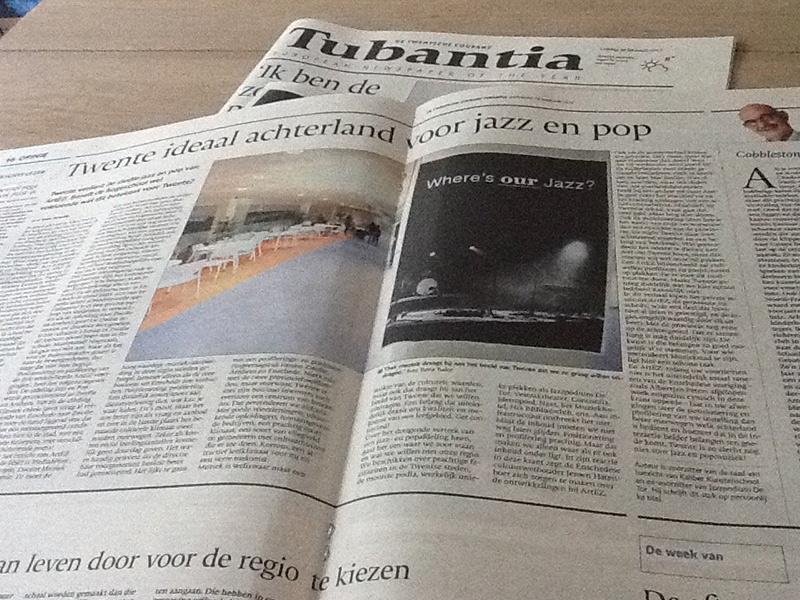 Twente ideaal achterland voor jazz en pop